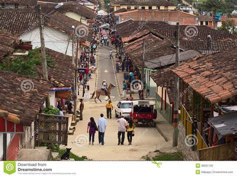 Salento, Colombia editorial image. Image of destination