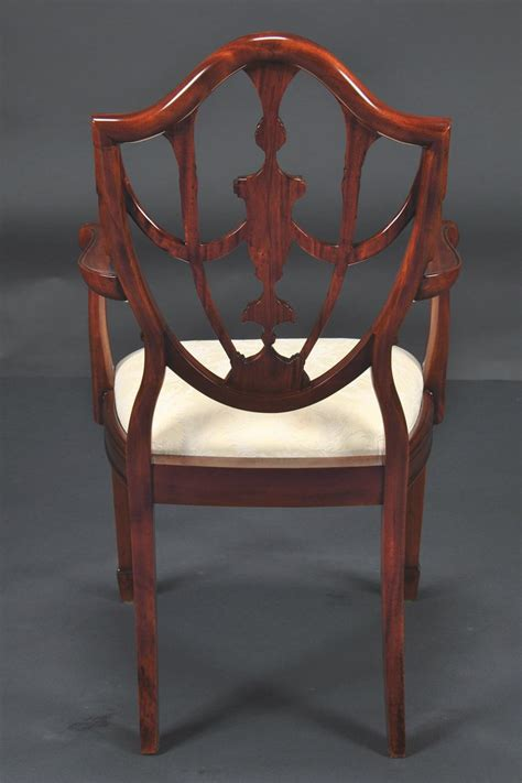 shield back dining room chairs prince of wales mahogany carved shield back dining room chairs