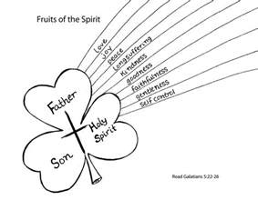 fruits of the spirit coloring page sunday school crafts