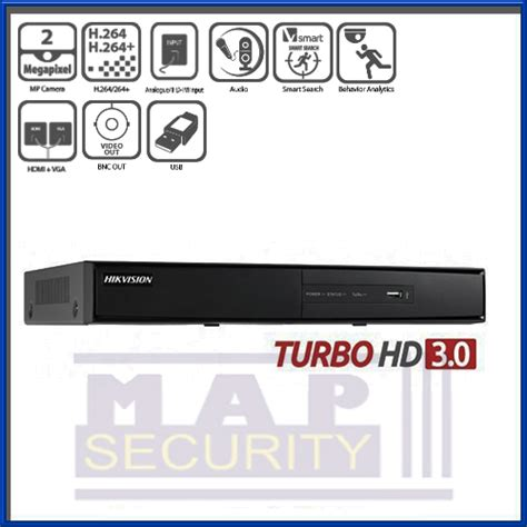 Hikvision Ds 7216hqhi F2 Dvr Turbo Hd 16ch hikvision 16 channel turbo hd 3 0 analogue self