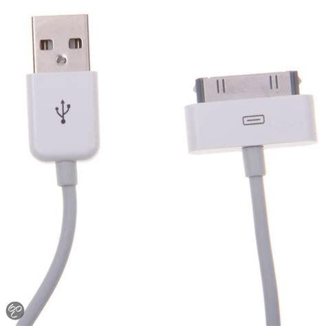 Usb Kabel Vivan Ci60 Iphone 4 bol 2 meter usb kabel voor iphone 4 4s wit