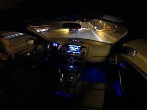 ford focus ambient lighting colors