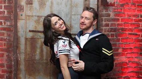 james mcavoy lisa liberati james mcavoy embarks on romance with n might shyamalan s