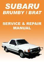 free service manuals online 1984 subaru brat regenerative braking subaru workshop repair manuals pdf download