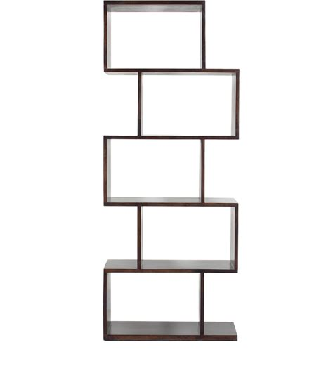 zig zag book shelf display unit in by