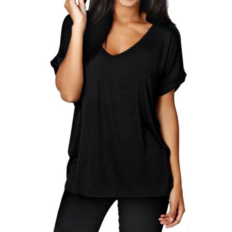 Summer S Simple Leisure Sleeves T Shirt Size M summer large size t shirt 2017 fashion simple solid color shirt casual v neck