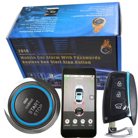 Alarm Remote Mobil gsm car alarm security system mobile phone remote start stop car engine keyless auto central