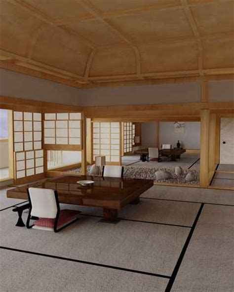 tatami living room asian interior decorating in japanese style