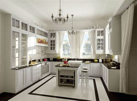 small u shaped kitchen with island comment am 233 nager et d 233 corer une cuisine ameublements ca