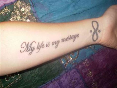 tattoo body quotes body tattoo design life quote tattoos ideas