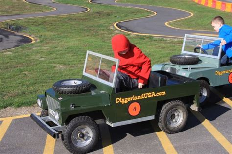 Awesome Go Karts by Diggerland S Awesome Land Rover Go Karts Bestride