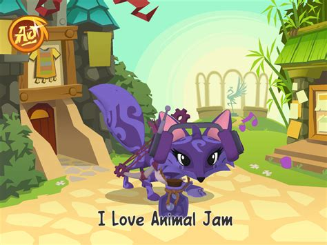 animal jam animal jam images my fox hd wallpaper and background
