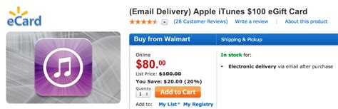 Will Itunes Gift Card Work For App Store - walmart offers 100 itunes app store downloadable gift card for 80 irumors now