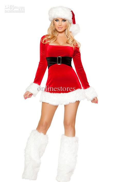 2017 mrs santa claus dress costume 7219 sexy christmas