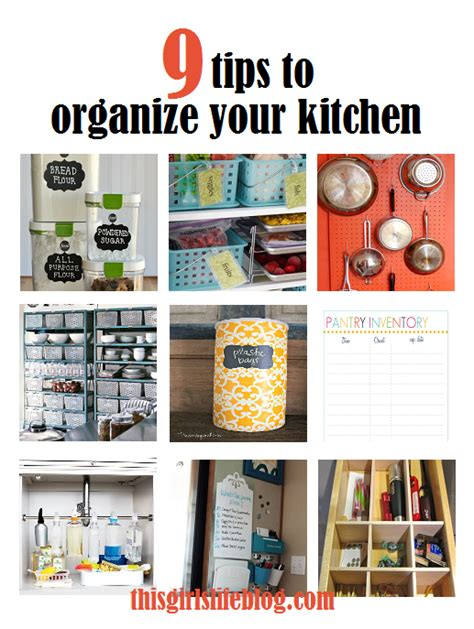 Tips To Organize Your Kitchen tips to organize your kitchen this s