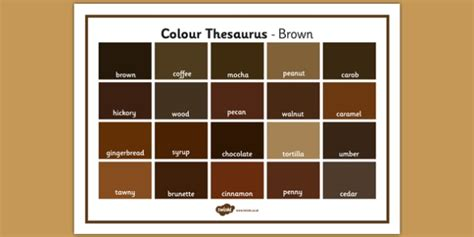 synonyms for color colour thesaurus word mat brown colour thesaurus colour