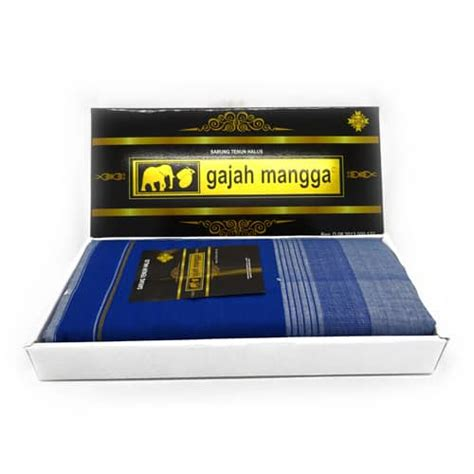 Sarung Cap Mangga sarung kain tenun biru cap gajah mangga koleksi antik koleksi antik