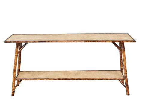 bamboo sofa table bamboo sofa table faux bamboo lane console sofa table