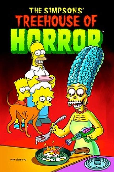 The Simpsons Graphic 16 bart simpsons treehouse of horror 16