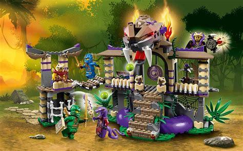 Lego Lele 79115abcd 1 4 Set Chima lego ninjago 70749 slangenpoort tempel