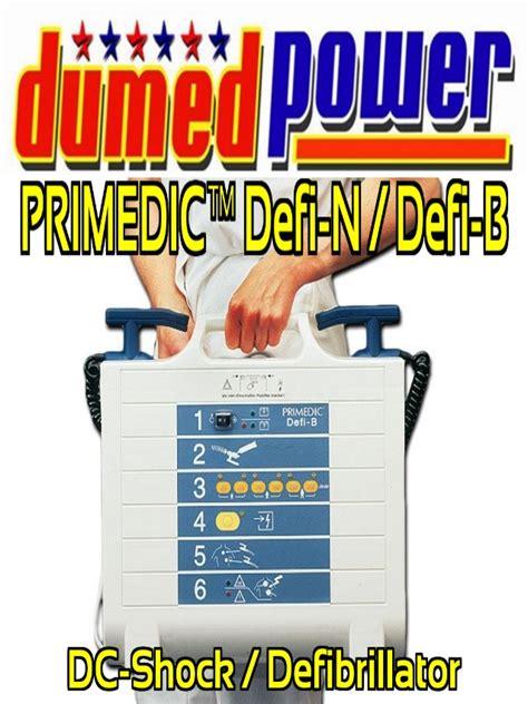 dc shock defibrillator primedic defi n defi b alat pacu jantung
