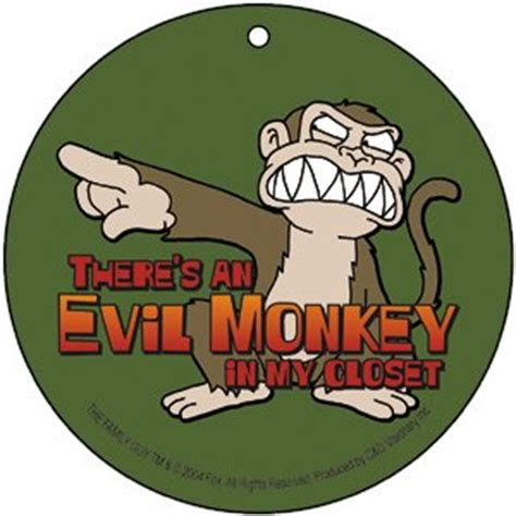 Family Monkey In The Closet by Family Evil Monkey Closet Air Freshener A Fg 0012