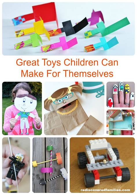 preschoolers can make really cool toys for to make themselves