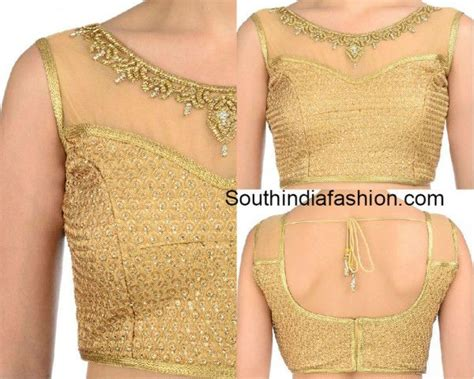boat neck side zip blouse boat neck gold brocade blouse photo blouse n sarees