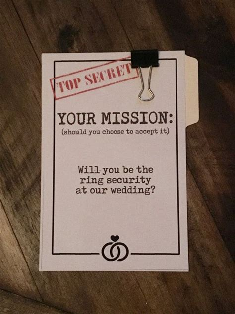 Ring Bearer Card Template by 1000 Ideas About Ask Groomsmen On Be My