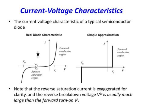 diode voltage current characteristics ppt lecture 4 diode led zener diode diode logic powerpoint presentation id 918872