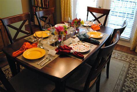 dinner tables pics dinner