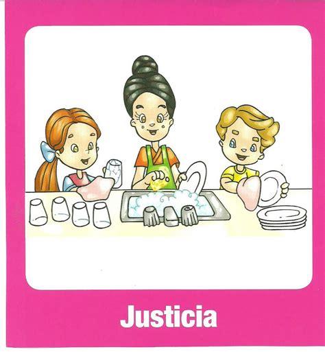 imagenes del valor justicia para colorear el rinc 243 n de la educadora preescolar valores