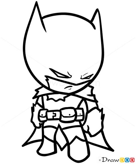how to draw batman chibi how to draw drawing ideas
