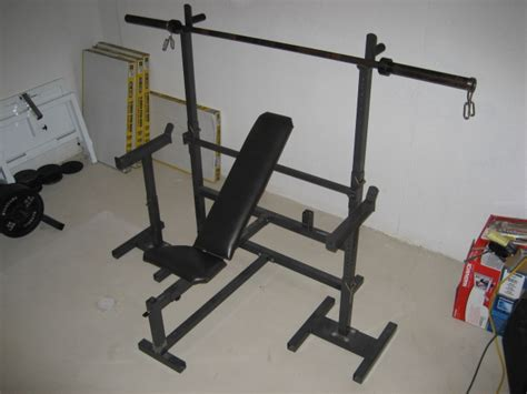 bench press safety stands weights