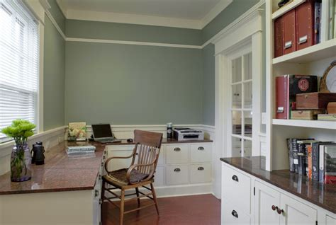 contemporary craftsman kitchen design traditional bungalow office powrie craftsman home office