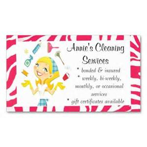 house cleaning business card exles cleaning services business card pink business pink femmes de chambre et