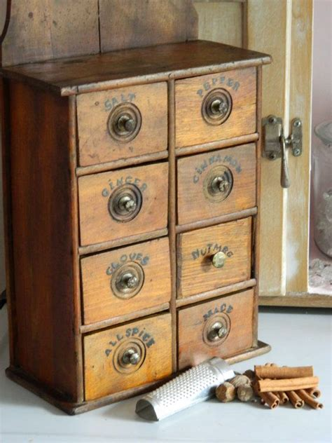 Spice Drawer Cabinet by Antique Spice Cabinet Drawers Woodworking Projects Plans
