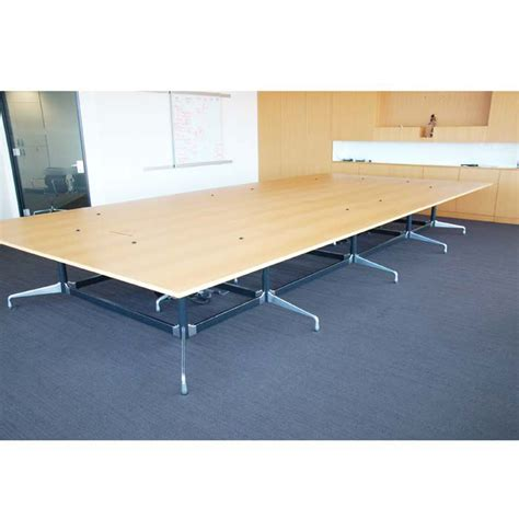 Large Boardroom Tables Original Vitra Eames Boardroom Table 5 6l X 2 7d Large Boardroom Table Conference Table For