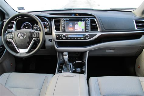 2014 Toyota Highlander Interior Dimensions by 2014 Toyota Highlander Hybrid Car Interior Design