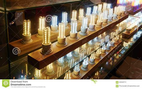 led lighting bulb shop stock photo image 63349711