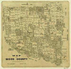 map of wood county sequence 1 the portal to history