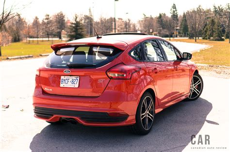 Ford Focus St Review by Review 2017 Ford Focus St Canadian Auto Review