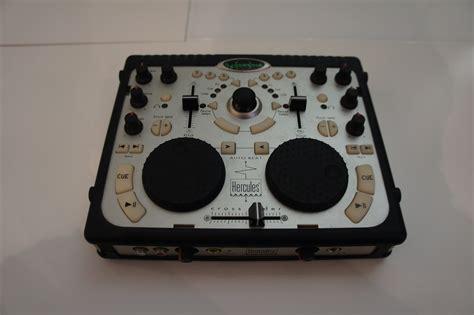 console hercules mk4 dj console hercules dj console audiofanzine