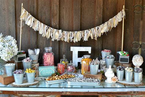 wedding rustic rustic wedding buffet