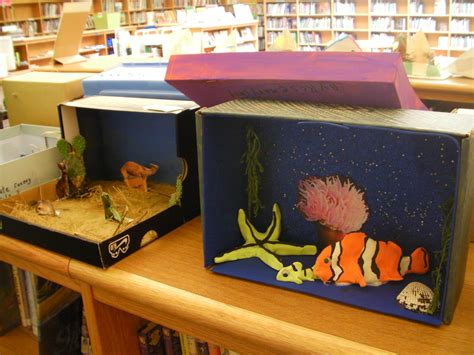 projects for grade two habitat projects sippican library