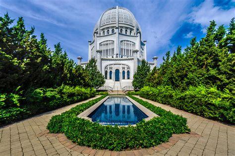 House Of Worship by Bahai House Of Worship Photograph By Randy Scherkenbach