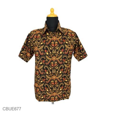 Baju Kaos Bambu Bali Dengan Lengan baju batik kemeja motif pisang bali kemeja lengan pendek murah batikunik