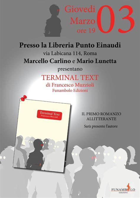 libreria einaudi roma terminal text libreria punto einaudi libri a roma