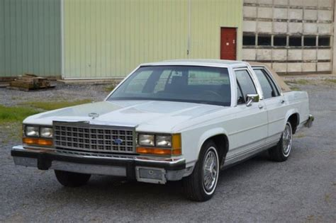 small engine service manuals 1986 ford ltd on board diagnostic system original unrestored 1986 ford ltd crown victoria lx in terrific condition for sale photos
