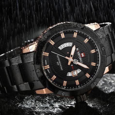 Jam Tangan Navi 9080 1 navi jam tangan analog pria 9085 black